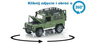 land rover bruder bruder 02590 land rover defender zielony www abc toys pl