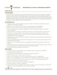 Freelance Resume Sample by Lofty Idea Grant Writer Resume 15 Examples Of Resumes Grant Writer