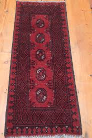Small Runner Rug Afghan Aq Chah Runner Rug Small Size
