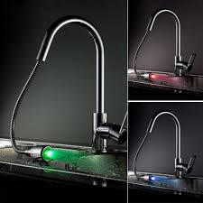 sinks and faucets color led faucet led kitchen sink faucet tap