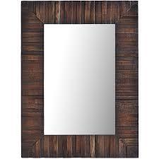 wood framed eternal wood framed 30x40 mirror pier 1 imports