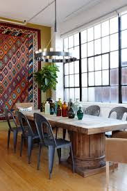 wonderful modular shaped hanging lights hung above artistic dining interior wonderful modular shaped hanging lights hung above artistic dining table at traditional dining space