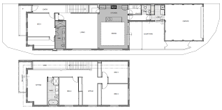 100 narrow lot plans single story narrow lot house plans