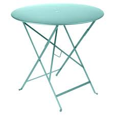 metal folding table outdoor bistro round table 77 cm metal table outdoor furniture