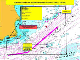 Map Of Singapore Search Underway For 10 Missing Navy Sailors As Us Warship Collides