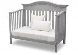 Canton 4 In 1 Convertible Crib Crib To Daybed Ideas 3 Delta Children Black 001 Canton 4