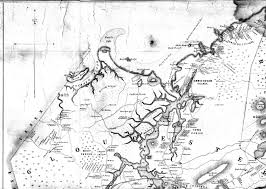 Map Of Massachusetts Towns by Fitz Henry Lane 19th Century Documentation Historical Materials