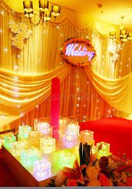 wedding stage decoration stock photos image 10869633