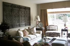 Interior Design Dark Brown Leather Couch Wooden Book Shelves Built In Cabinets Traditional Living Rooms