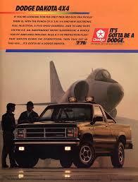 1987 dodge dakota 4x4 dodge dakota vintage car ads