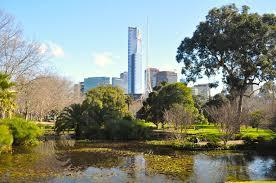 Melb Botanical Gardens by Melbourne City From Botanic Gardens Free Stock Photo Public