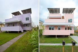 Katrina Homes Brad Pitt Builds 109 Homes In Katrina Hit New Orleans Stuff Co Nz
