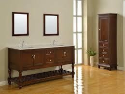 Bathroom Vanity With Linen Tower Bathroom Vanities With Storage Towers Cabinets Corner Vanity
