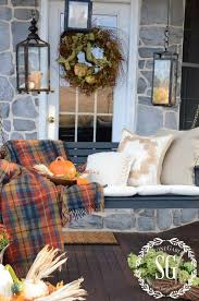 Fall Decorated Porches - 259 best fall porches front and back images on pinterest fall