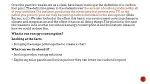 Calculate Your Carbon Footprint Worksheet Edu40005 Reading To Teach Primary U2013 Practicum 4e Assessment 1