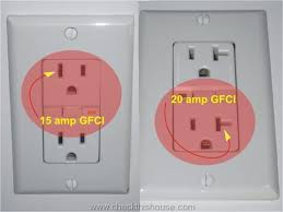 gfi outlet 20a outlet on a 15a breaker trap shooters forum