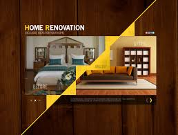 home renovation websites interior design website templates