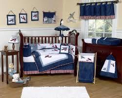Vintage Aviator Crib Bedding Baby Boy Airplane Crib Bedding Set New Furniture