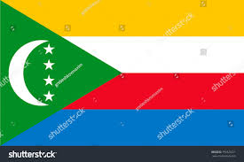 Dimensions Of Canadian Flag Simple Flag Comoros Correct Size Proportion Stock Vector 791825221
