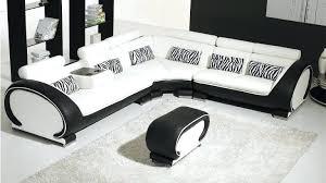 canap angle simili cuir pas cher canape d angle blanc et noir canapac dangle 4 places simili