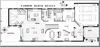 house plans narrow lot narrow house designs impressive ideas floor plan for narrow house