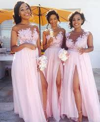 pink bridesmaid dresses lace appliqued mismatched bridesmaid dresses pink bridesmaid