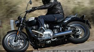 si e auto la route custom essai triumph speedmaster sur la route encore encore