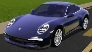 purple porsche 911 fresh prince creations sims 3 2013 porsche 911 carrera s