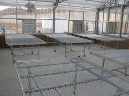 Metal Greenhouse Benches Nexus Greenhouse Systems Fixture Nexbench