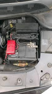 renault megane mk2 battery cover installation problems