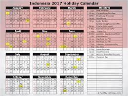 Kalender 2018 Hari Raya Puasa Indonesia 2017 2018 Calendar