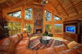 Vacation Cabin Rentals In Atlanta Ga Silvercreek Cabin In Gatlinburg Elk Springs Resort