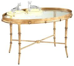 Gold Round Coffee Table River Stone Cocktail Table Mitchell Gold Mitchell Gold Allure