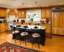 Maple Kitchen Island Maple Kitchen Cabinets With Island Kitchen