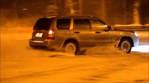 orange subaru forester subaru forester snow drift youtube