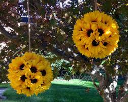 sunflower wedding decorations beautiful handmade bridal bouquets boutonnieres by boukeeps