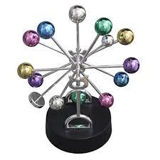 Swinging Desk Balls Geocero Physics Mechanics Science Toys Newton U0027s Cradle Kinetic