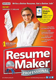 Create Best Resume by Amazon Com Individual Software Resume Maker Professional Deluxe 17