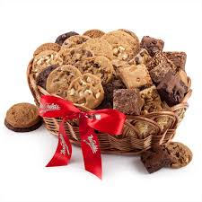 cookie basket delivery best to it mrs fields brownie cookie gift basket