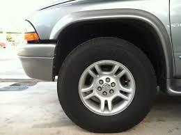 dodge durango tire size question about tire size and grilles dodgeforum com