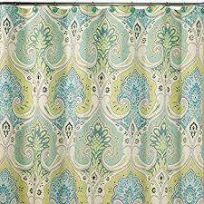 Shower Curtain Contemporary Amazon Com Interdesign Vivo Botanical Fabric Shower Curtain 72