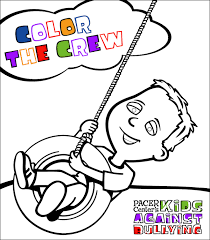 coloring book national bullying prevention center