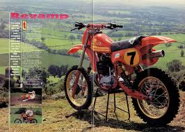 motocross bikes road legal gymi u0027s garage best vintage off road bikes from the 80s