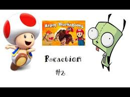 toad and gir reaction episode 2 sml the big thanksgiving