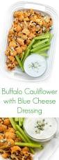 buffalo cauliflower with blue cheese dressing the lemon bowl