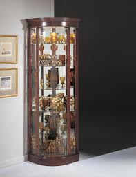 Corner Display Cabinet With Glass Doors Curio Cabinet Curio Cabinets Withghts And Mirrors Corner Bentley