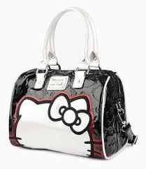 check cute matching kitty pink bow pattern purse