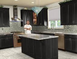 How To Paint My Kitchen Cabinets White Dark Granite Countertops Hgtv Inside Kitchen Ideas White