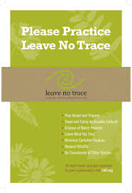Resume For Stay At Home Mom Returning To Work Examples by The Leave No Trace Seven Principles Leave No Trace