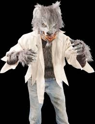 halloween masks killer kick wolf costume